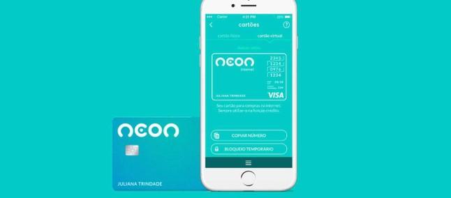 Neon lança um cartão de pagamento diferente do convencional - Saiba Mais!