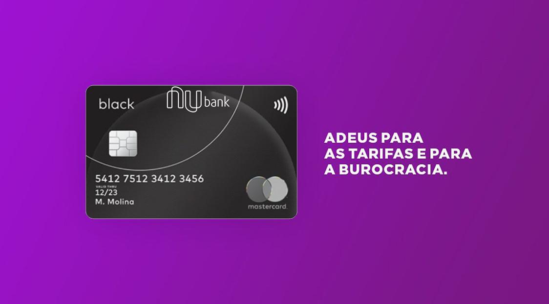 Nubank estuda lançar cartão de crédito Mastercard Black - Saiba Mais