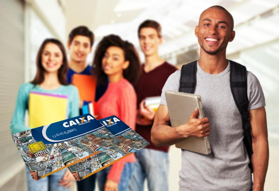 Cartão Caixa Universitário