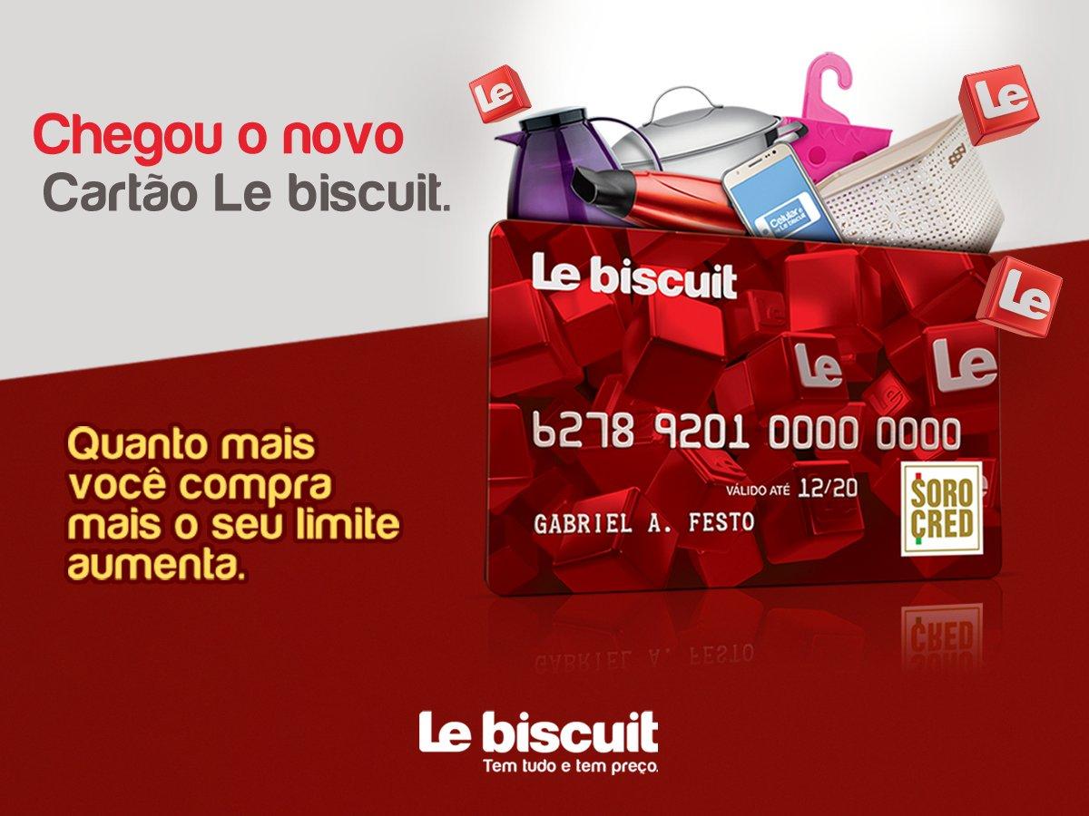 Cartão de Crédito Le biscuit