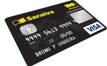 Cartão de Crédito Saraiva