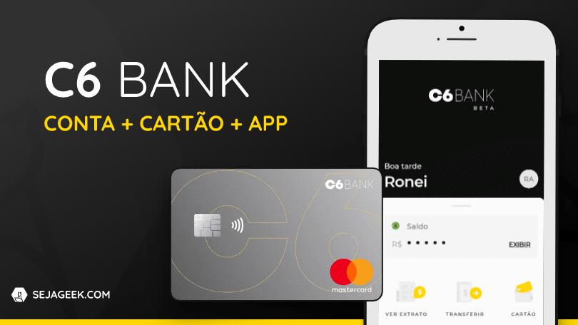 C6 Bank, novo concorrente dos bancos Digitais, é oficialmente lançado