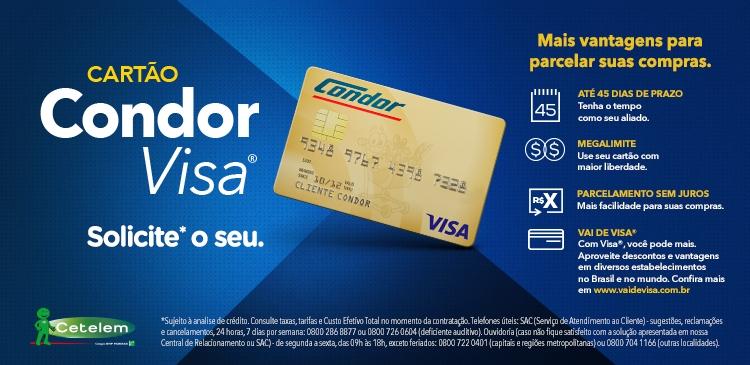 Saiba Como Solicitar o Cartão de Crédito Condor Hipermercados!