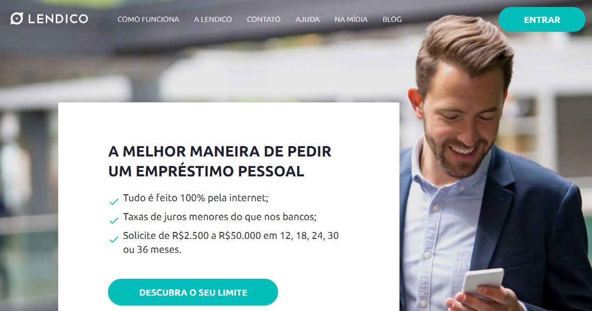 Lendico - Empréstimo Pessoal Online de forma rápida   Saiba Mais