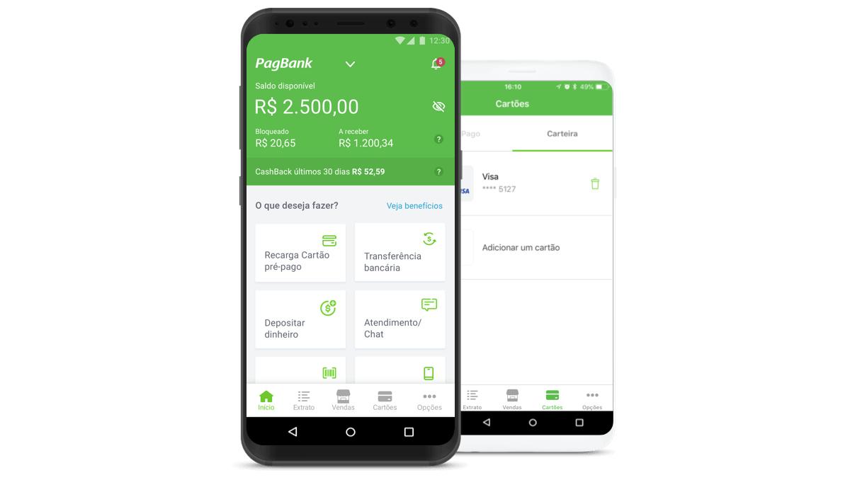 PagBank ou Mercado Pago   Qual é a melhor conta digital?