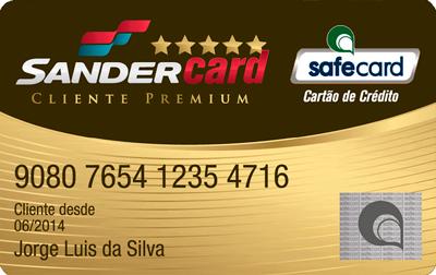 Cartão de Crédito SanderCard - O Cartão dos Postos Sander!