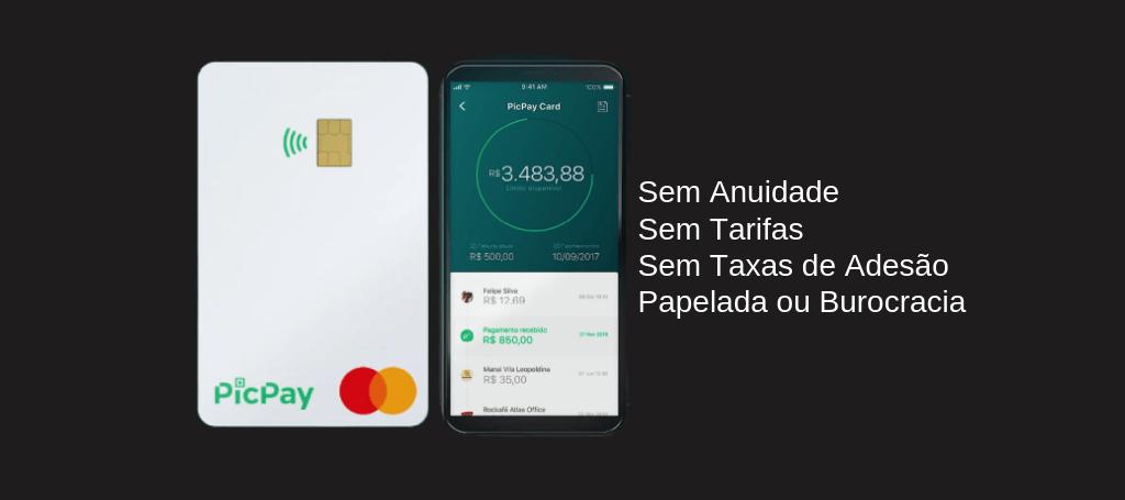 PicPay Card Zero Anuidade | Oferece até 5% do Dinheiro de Volta Com Cashback