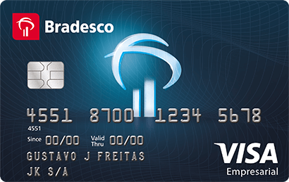Cartão de Crédito Bradesco Empresarial Elo Internacional