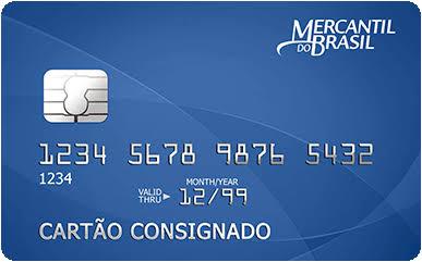 Cartão de Crédito Consignado Banco Mercantil