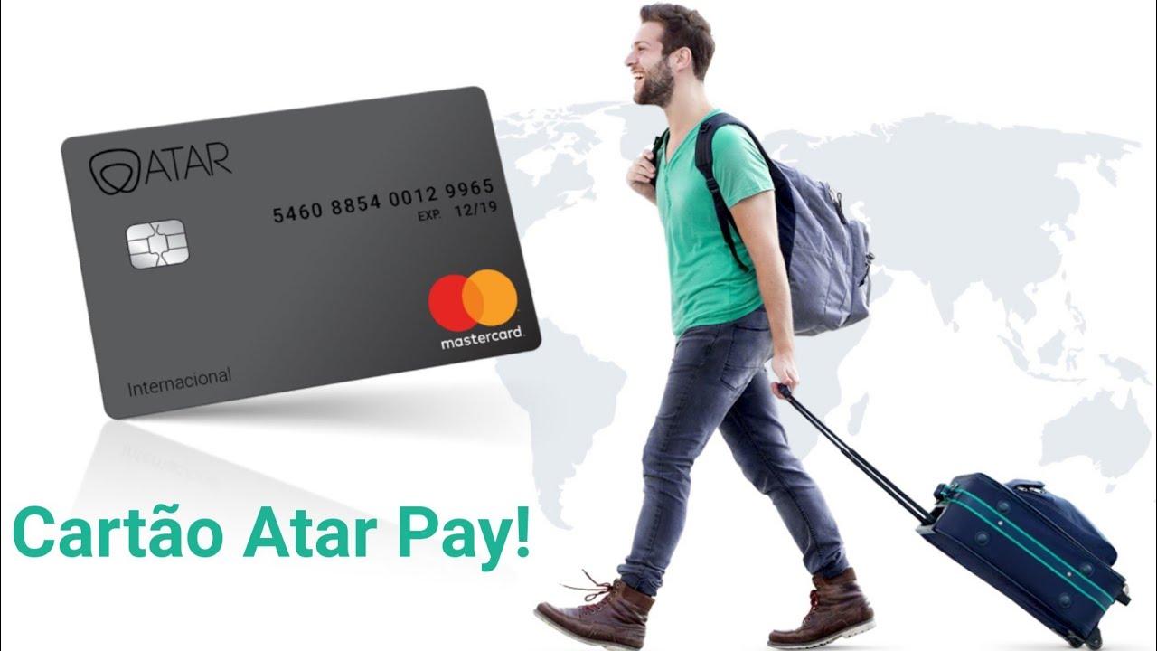 Conta ATAR pay + Cartão de Crédito Internacional