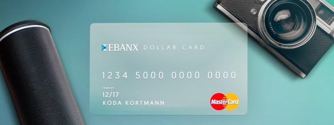 OEbanx Dollar Card MasterCard é um cartão pré-pago com saldo em Dólar dos Estados Unidos (USD), que pode ser recarregado por boleto bancário.