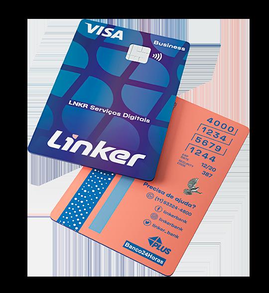 Conta 100% Digital + Cartão PJ Linker   Para a Nova Geração de Empreendedores
