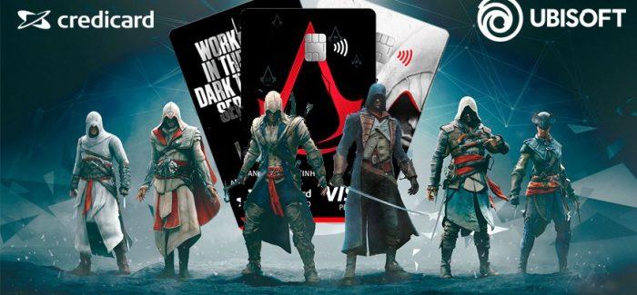 Lançamento Cartão de Crédito do Jogo Assassin's Creed | Saiba Tudo Sobre o Cartão!