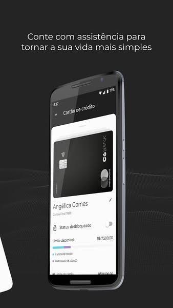 C6 Bank permite pagamento de estacionamento de shopping pelo app