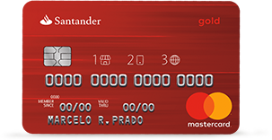 Cartão de Crédito Santander Gold 1 2 3   Conheça Suas Vantagens, Taxas, Anuidade!