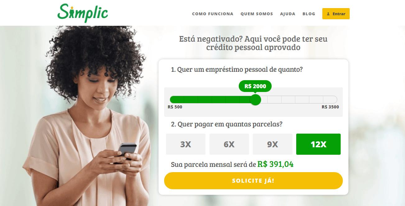 Como funciona um empréstimo pessoal Simplic - Meu Crédito Digital