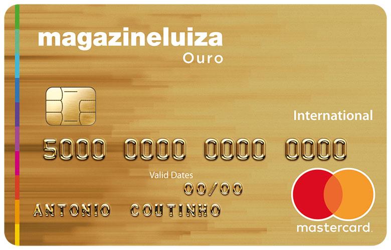Cartão de Crédito Magazine Luiza Ouro