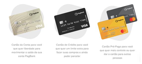 PagBank oferece cartão de crédito