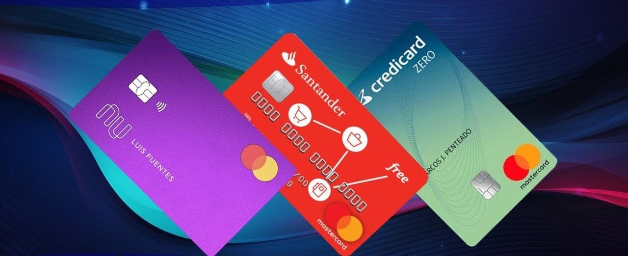 Qual Cartão Devo Escolher em 2020   Nubank, Santander Free ou Credicard Zero?