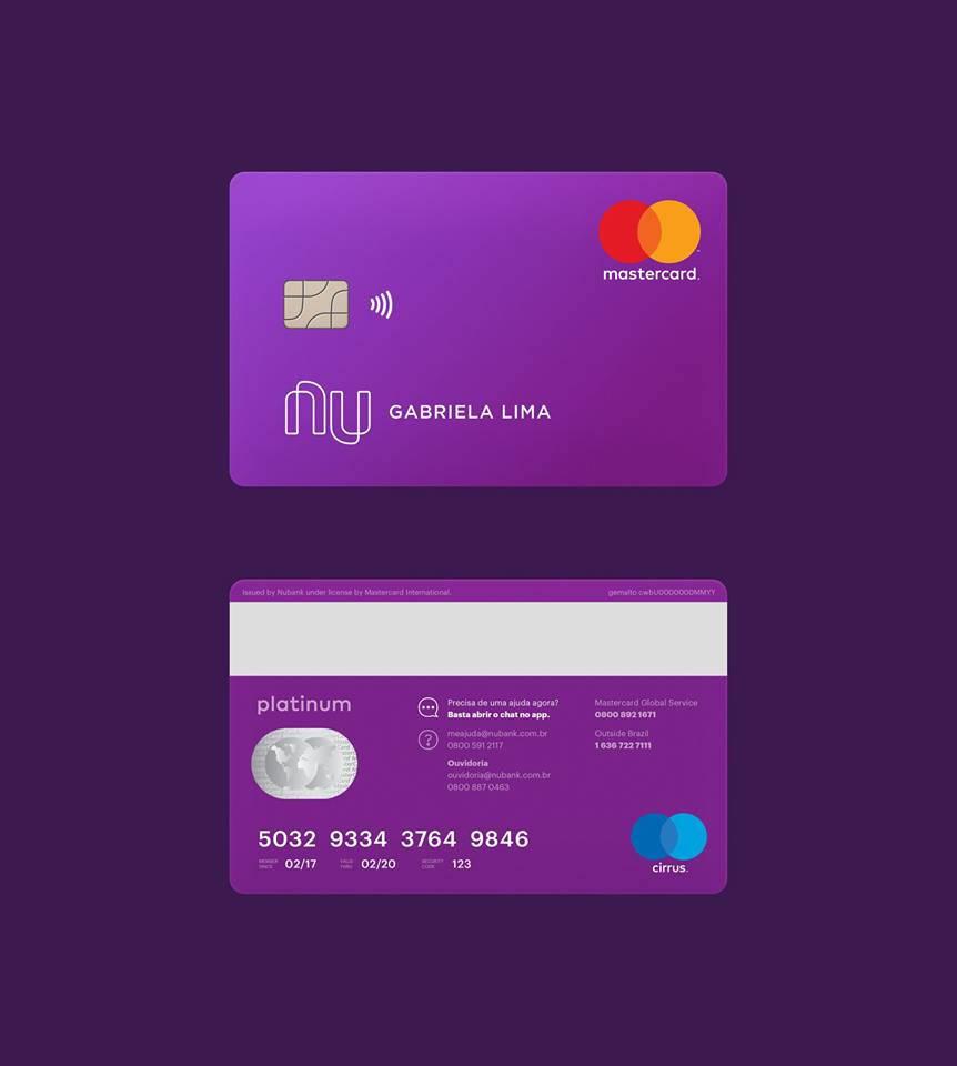 Como conseguir o cartão de crédito Nubank Platinum?