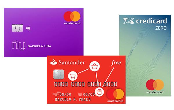 Credicard Zero, Nubank ou Santander Free