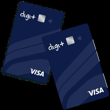 cartão de crédito Digi+ - Meu crédito digital