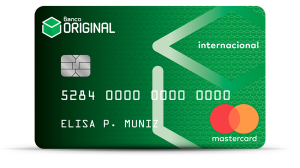 Cartão de Crédito Banco Original Internacional