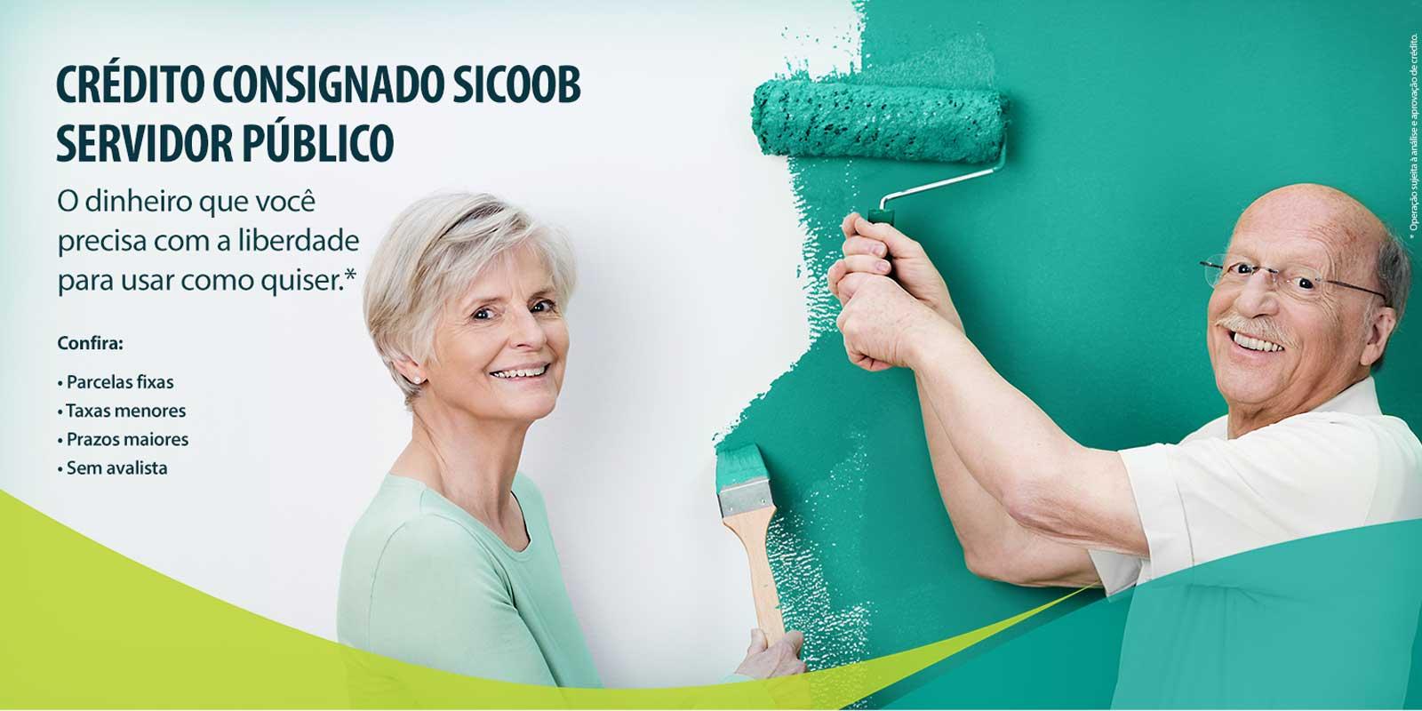 Empréstimo Sicoob para aposentados