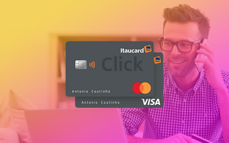 Cartão Itaucard Click Visa Platinum: Solicitação online de forma rápida e prática