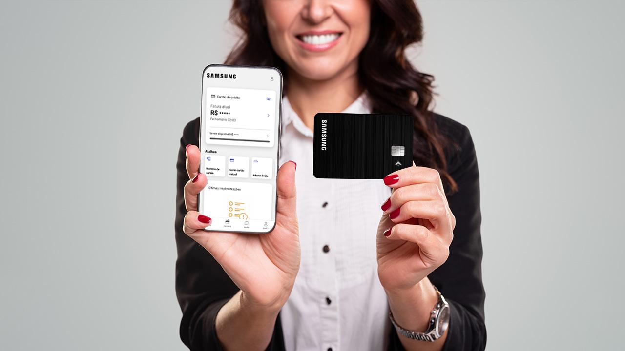 Cartão de crédito Samsung isento de anuidade: Como solicitar de forma online
