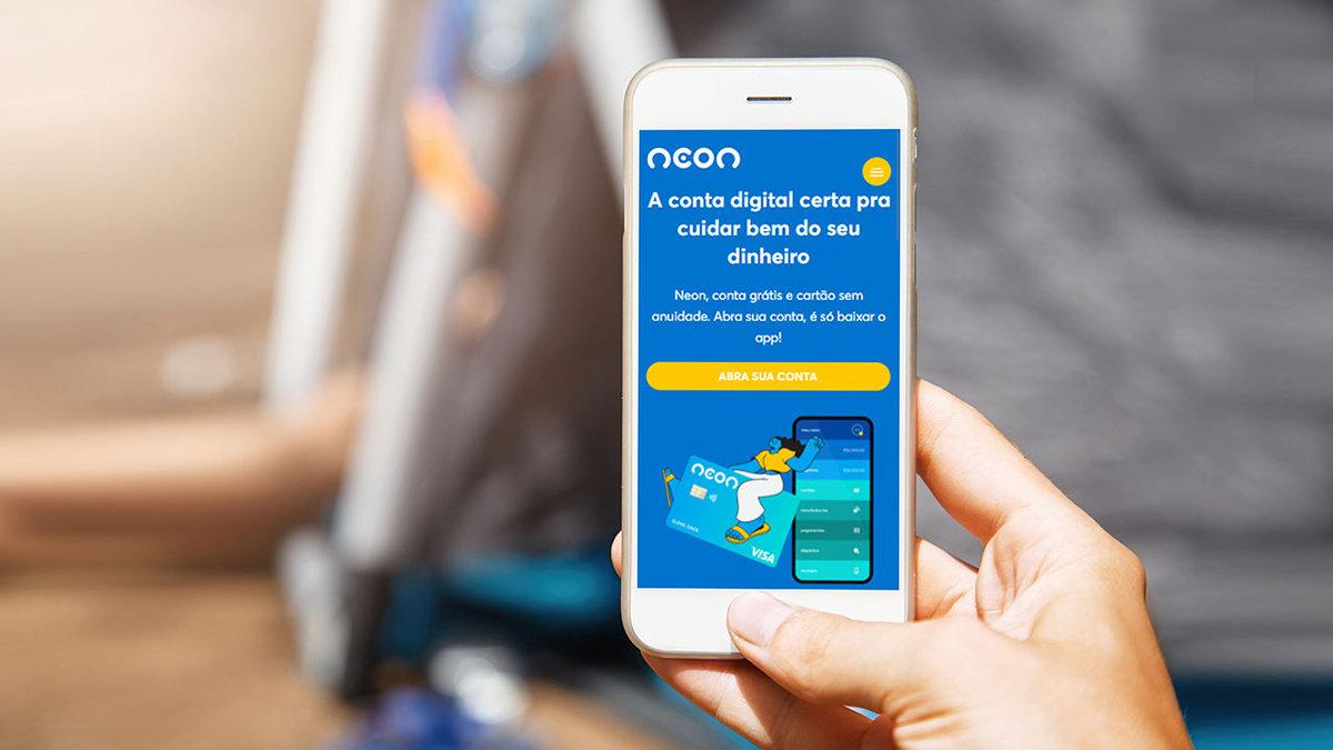 Empréstimo pessoal digital Neon Taxas de juros atraentes, como solicitar online e rápido